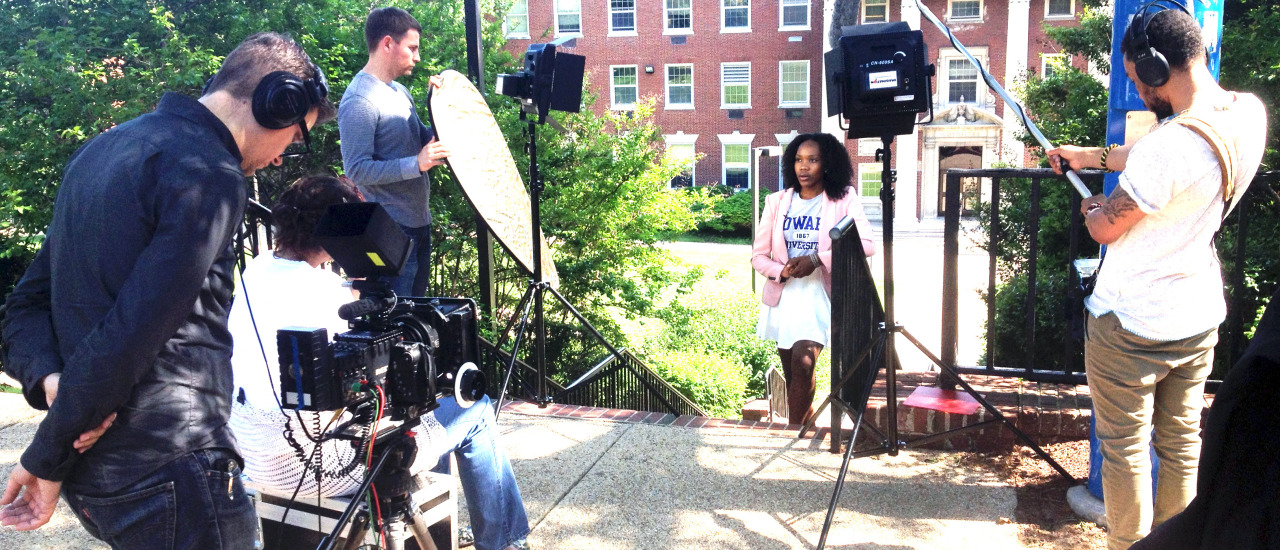 Producing official video for Howard University